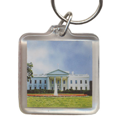 Key Holder. Acrylic. Square. DC. White House.