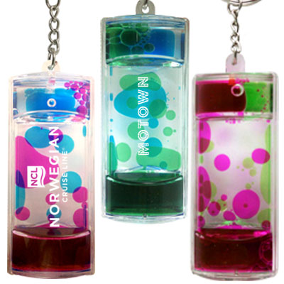 Key Holder. Aqua Mesmerizer. Rectangle Shape.