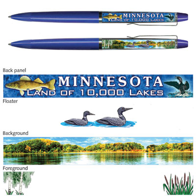 Pen. Floaty. Classic. MN. General. Loon.