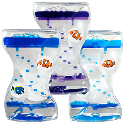 Aqua Mesmerizer. Dual Spinner. Tropical Fish. Clown Fish/Blue Tang.