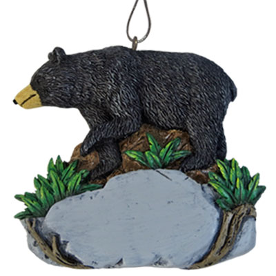 Ornament. Polyresin. Natural Wonders. Black Bear.