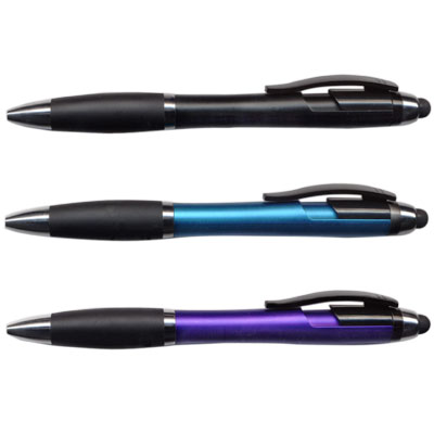 Pen. HiValue. Sheridan. Stylus. Assorted Colors.