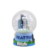 Waterglobe. Glass. 45 mm. WA. Seattle.