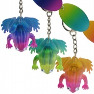 Key Holder. Rainbow Lite. Frog.