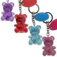 Key Holder. Jewel Faceted. Teddy Bear.