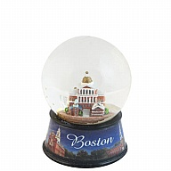 Waterglobe. Glass. 45 mm. Photo Wrap. MA. Boston. Historic.