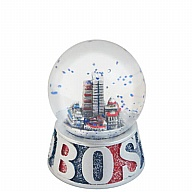 Waterglobe. Glass. 45 mm. GlitterBase. MA. Boston. Fenway Park.
