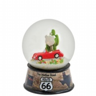Waterglobe. Glass. 45 mm. Photo Wrap. Route 66.