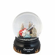 Waterglobe. Glass. 45 mm. OH. Cleveland. Executive.