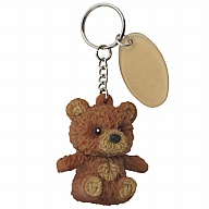 Key Holder. SqueezeMe. Bear. Brown.
