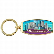 Key Holder. Metal. Foil. MN. Minneapolis.