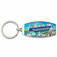 Key Holder. Metal. Foil. IN. Indianapolis.
